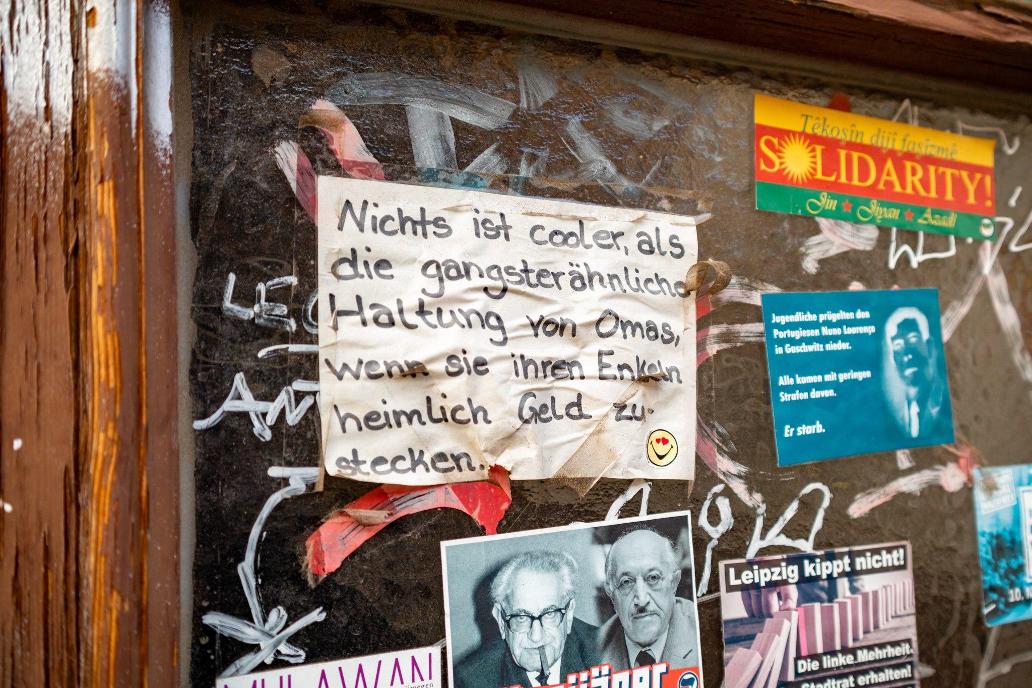 Gangsteromas - Altlindenau, Leipzig
