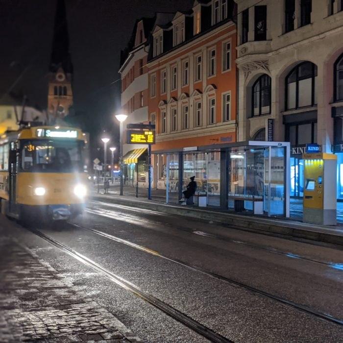 Tram-Portrait - Lindenauer Markt, Leipzig