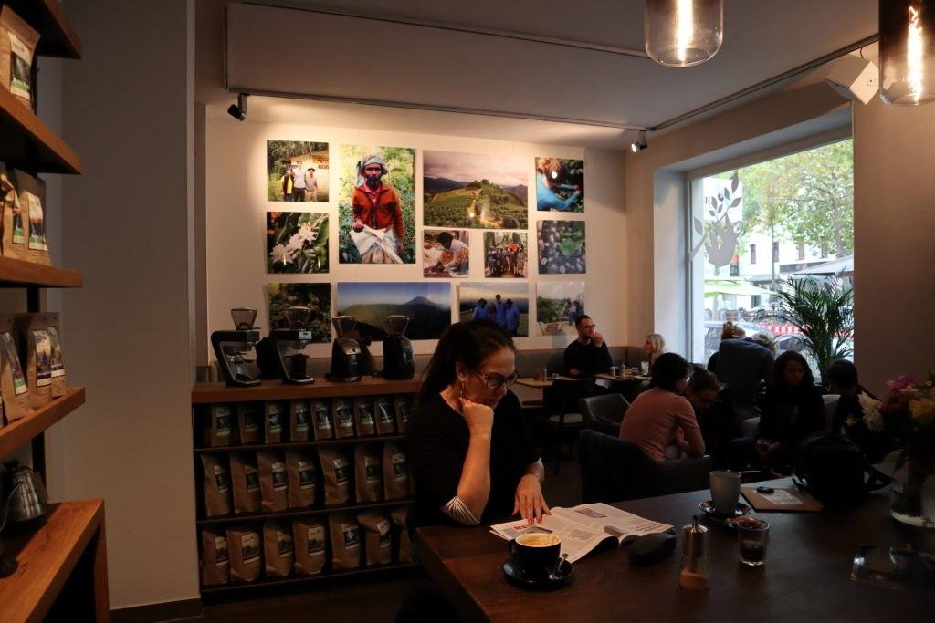 Fotowand - Café Obenauf