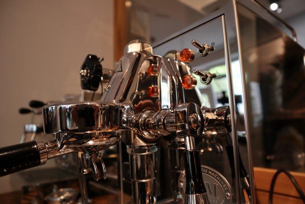 Maschine nah - Café Obenauf