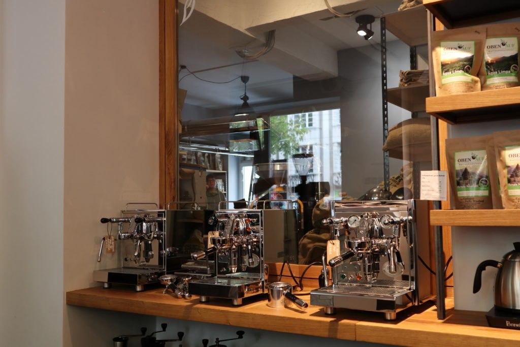 Maschinen - Café Obenauf