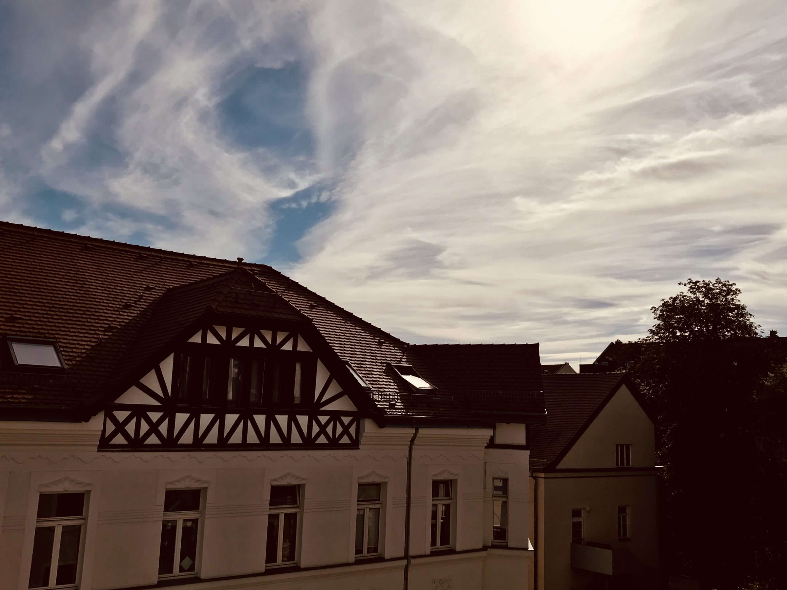 Himmel über Altlindenau, Leipzig