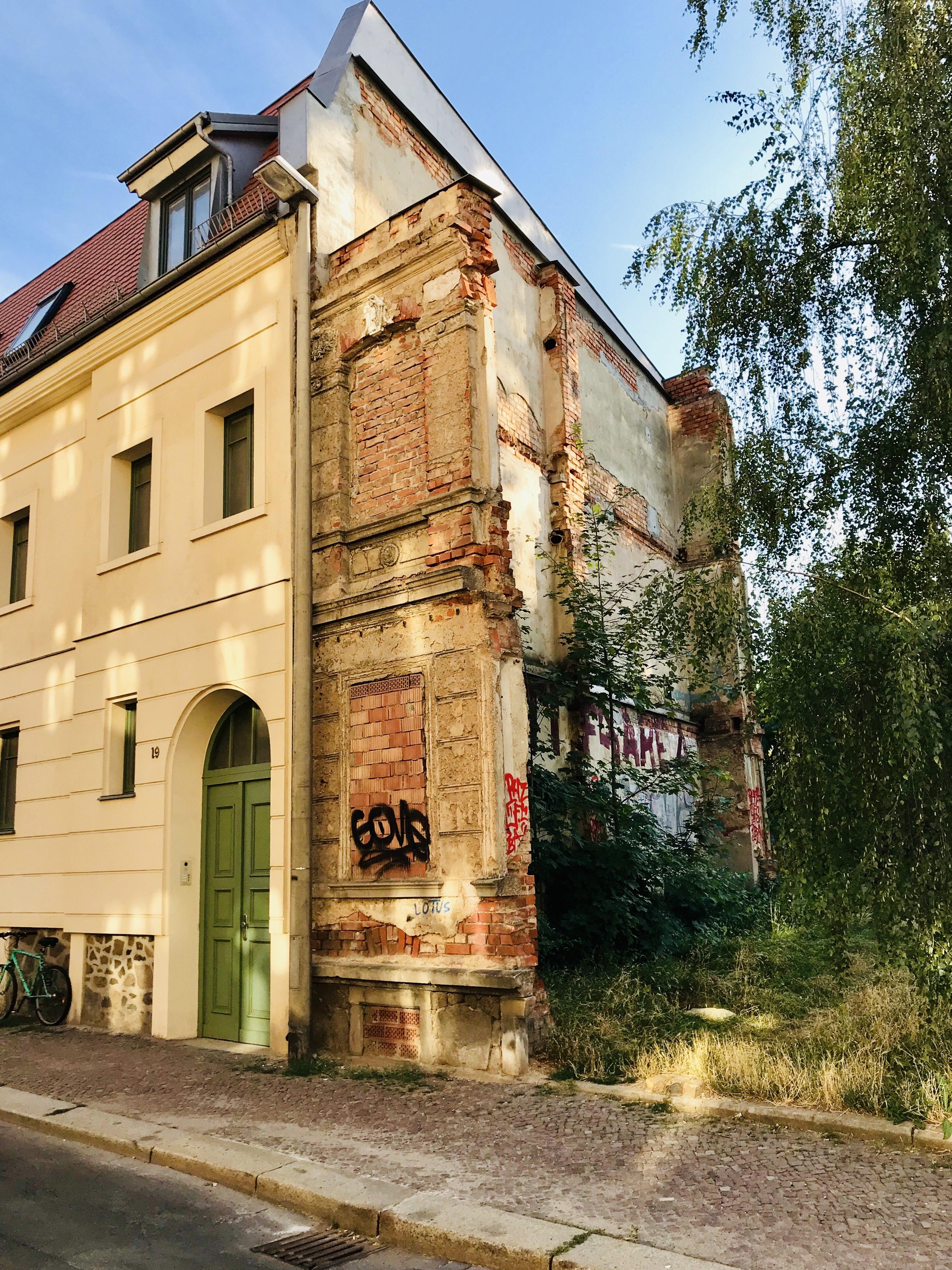 Altbau in Altlindenau, Leipzig