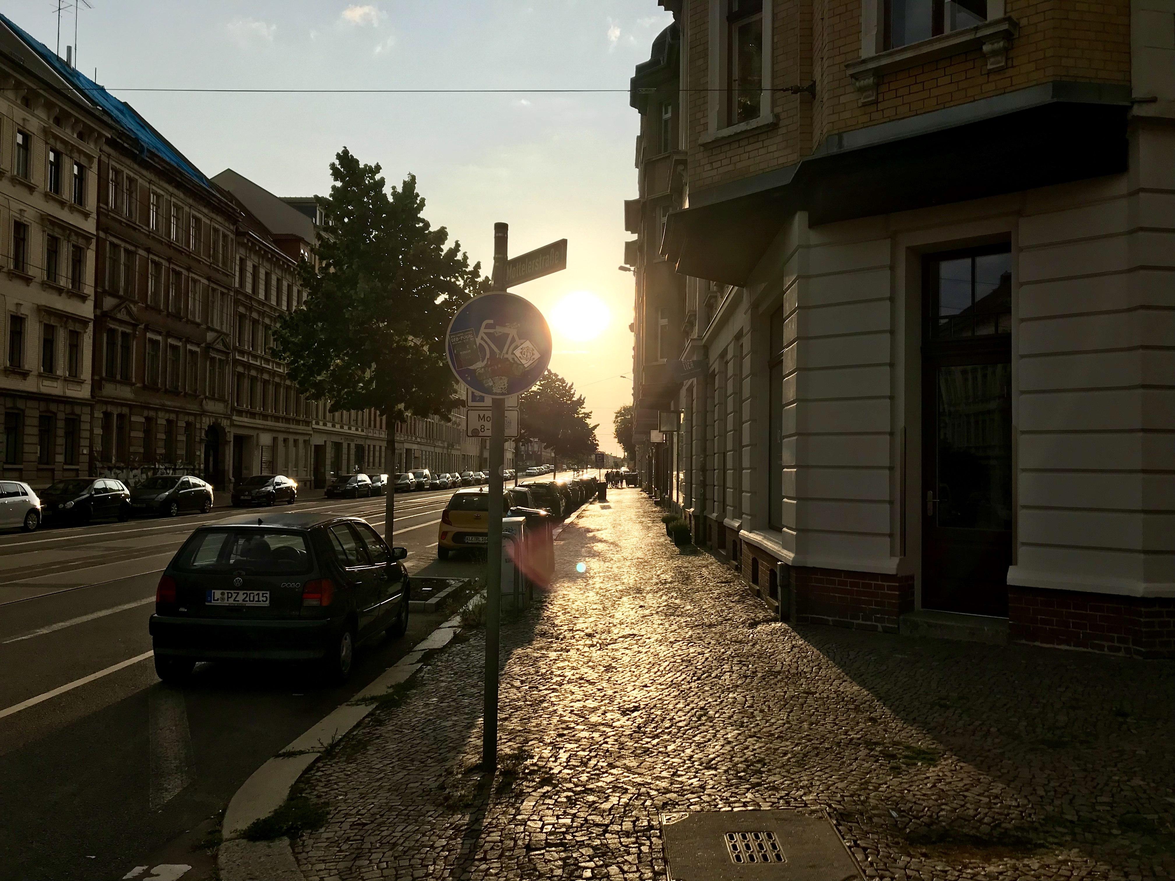 Streifzug durch die Stadt, Leipzig