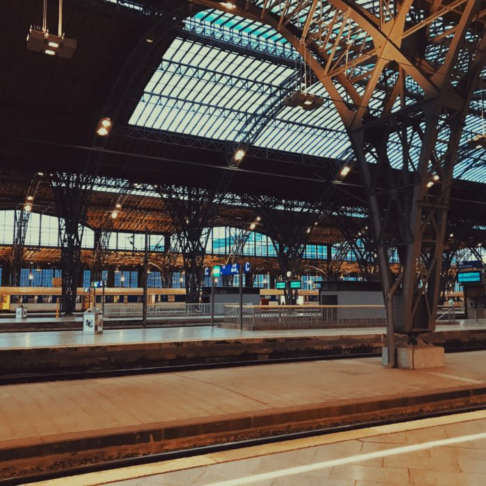 Warten - Hauptbahnhof, Leipzig