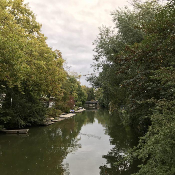 Weg im Grünen – Elstermühlgraben, Leipzig